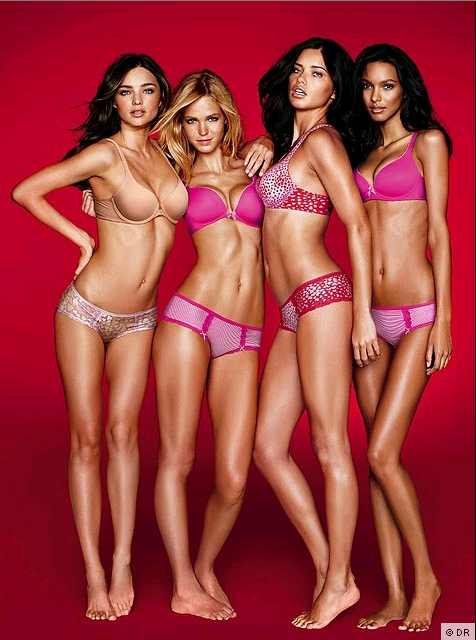 Lookbook des Anges Victoria's Secret pour la Saint-Valentin.