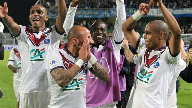 Ligue 1 - Bordeaux through to French Cup final after Troyes win