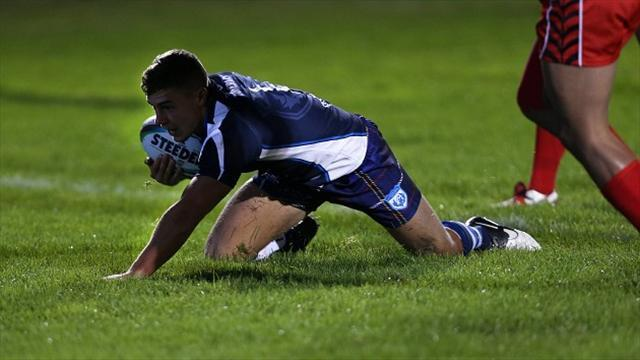 Rugby League - Wallace delighted with debut