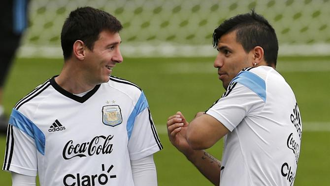 World Cup - Aguero fit for semi-final, Di Maria misses out