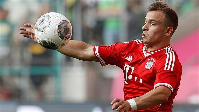 Bundesliga - Shaqiri out for seven weeks as Bayern injury list grows