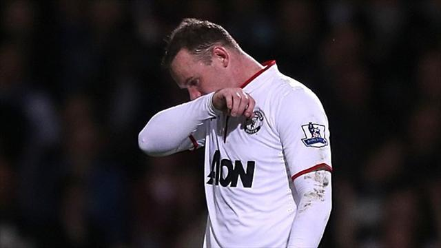 Premier League - United quiet amid Rooney claims