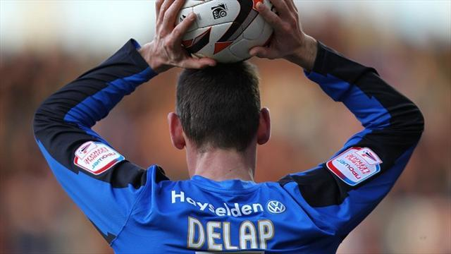 Football - Delap calls time on playing career