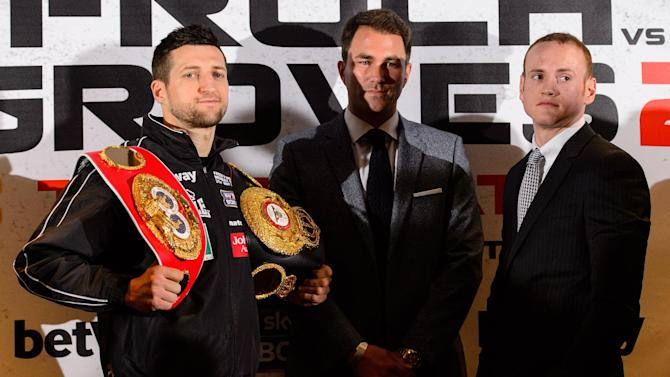 Boxing - Froch and Groves safely make weight for Wembley blockbuster
