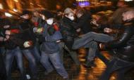 Ukraine: Pro-Kiev Protester Stabbed To Death