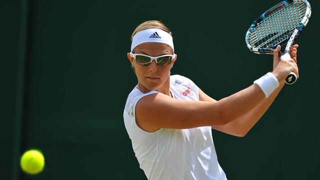 Tennis - Flipper Flipkens knocks out Kvitova to reach semis