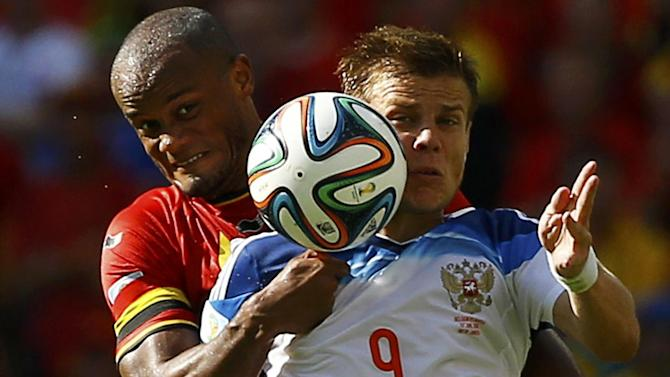 Football - Belgium captain Kompany to miss South Korea match