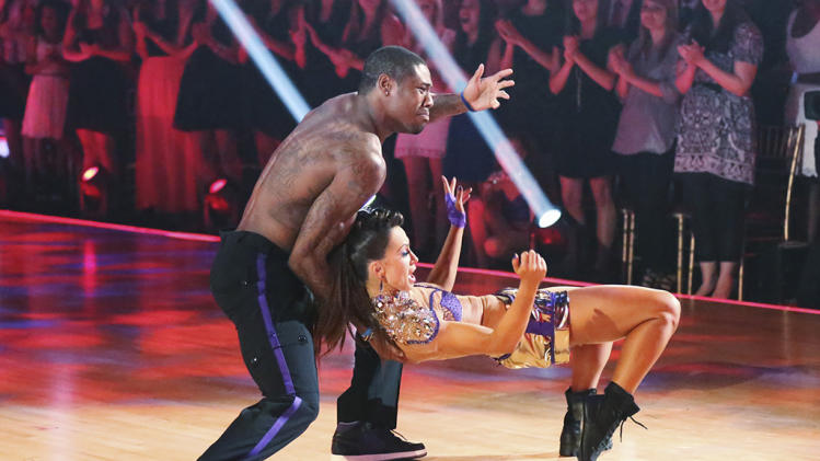 Jacoby Jones and Karina Smirnoff (5/20/13)