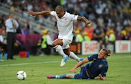 Glen Johnson will not let a toe problem hold him back at Euro 2012