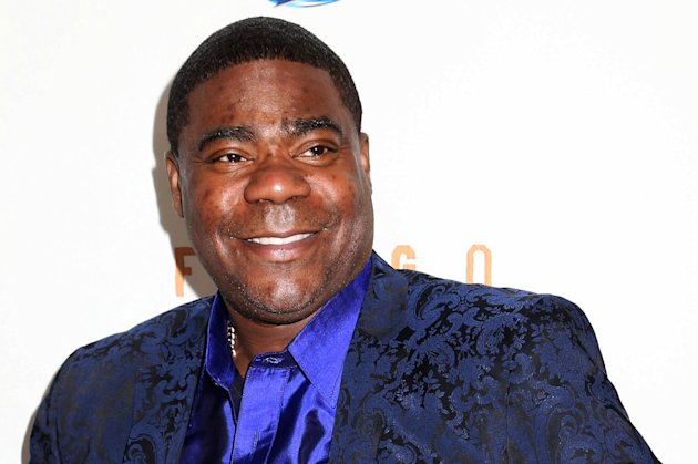 "FILE - In this April 9, 2014 file photo, actor Tracy Morgan attends the FX Networks Upfront premiere screening of ""Fargo"" at the SVA Theater in New York. Morgan is struggling more than two months after he was injured in a motor vehicle crash that left a fellow comedian dead, his lawyer said Monday, Aug. 11, 2014. (Photo by Greg Allen/Invision/AP, File)"