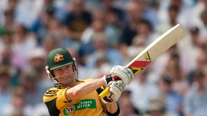 Michael Clarke top scored for Australia with 66