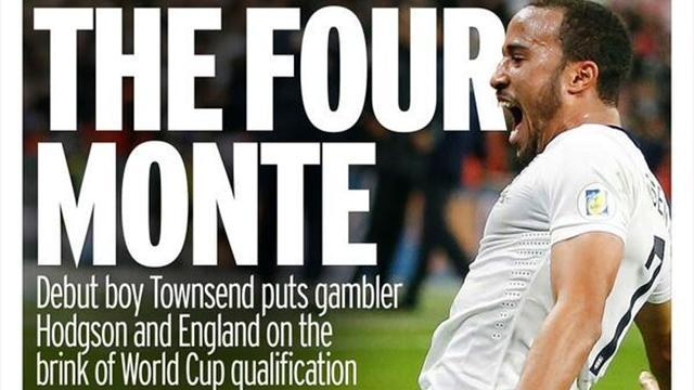 World Cup - Paper Round: Praise gushes for bold Hodgson