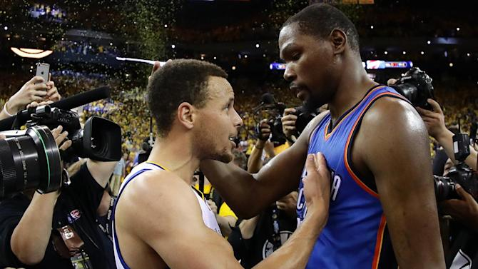 Warriors, Thunder Game 7 draws highest NBA cable TV rating ever