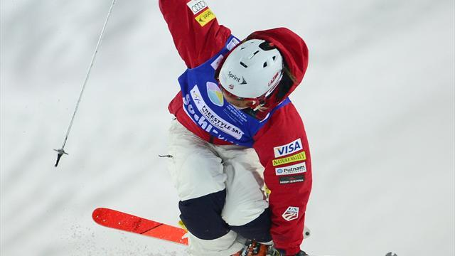 Freestyle Skiing - Moguls World Cup race hots up as Kearney and Bilodeau move back top