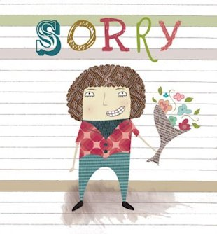 An industry that should be thanking us for our apology issue: greeting cards. (Design by Beth Haudiquet)