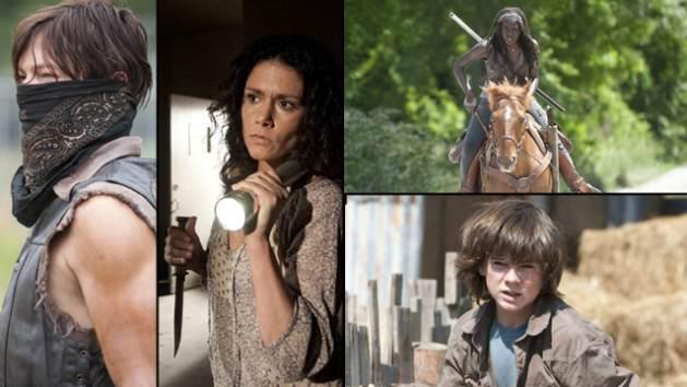 Scenes from 'The Walking Dead' Episode 402 'Infected' -- AMC