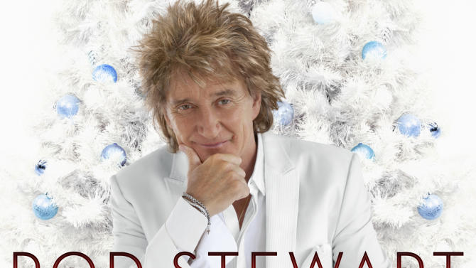 "This CD cover image released by Verve Music Group shows a holiday release by Rod Stewart, ""Merry Christmas, Baby."" (AP Photo/Verve Music Group)"