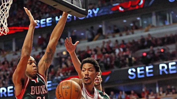 Rose scores 23, Bulls beat Bucks 103-91