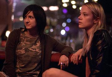 Ashlee Simpson and Pell James in Lions Gate Films' Undiscovered