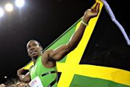 Reigning world 100-metres champion Yohan Blake, pictured in 2011, of Jamaica said Tuesday he was focusing on getting a faster start in his bid to relieve compatriot and training partner Usain Bolt of his Olympic 100 metres title later this year