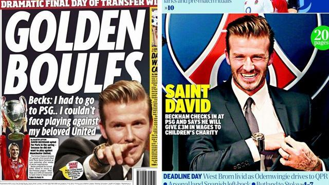 Ligue 1 - Paper Round: Arise, Saint David, the 'Beatle with studs'