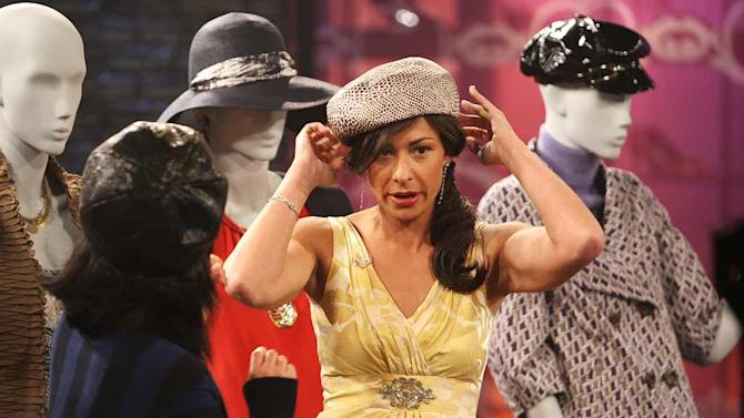 Stacy London hosts Fashionably Late with Stacy London.