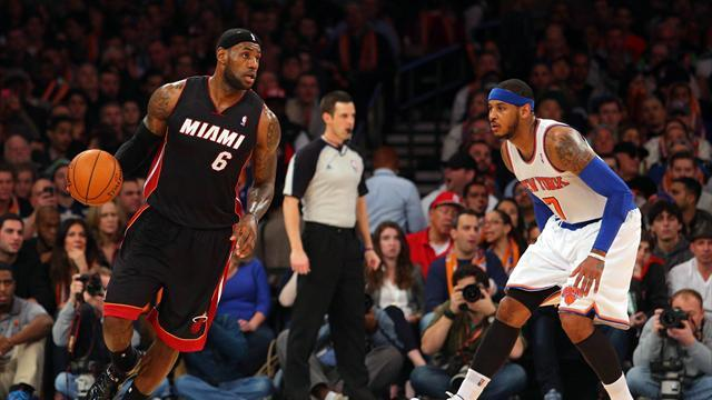 NBA - Lebron's 30 points leads Heat to victory