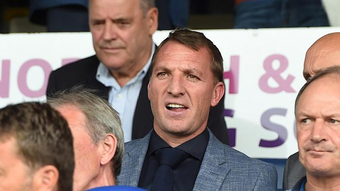 Brendan Rodgers - Celtic Manager at the game