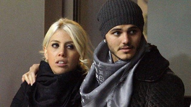 Wanda Nara and Mauro Icardi (Reuters)