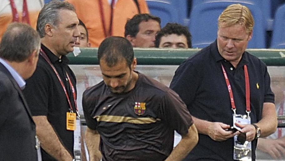Ronald Koeman Opens Up About His Relationship With Man City Manager Pep Guardiola