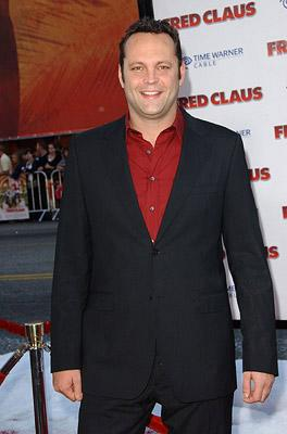 Vince Vaughn at the Hollywood premiere of Warner Bros. Pictures' Fred Claus