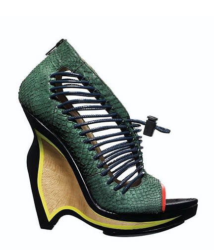 Proenza Schouler featured these narrow wedges in its spring collection.