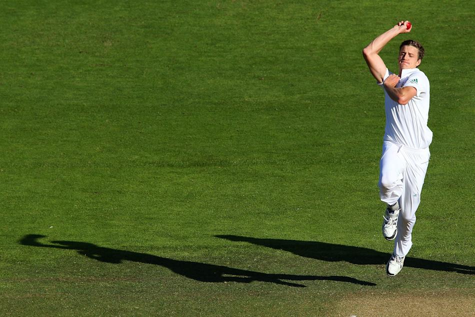 New Zealand v South Africa - 3rd Test: Day 3