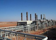 A picture released by BP on January 16, 2013, shows their Algerian operation at the In Amenas field in the Sahara desert. A French catering company said Wednesday that 150 of its Algerian employees were being held in a BP plant in Algeria where Al-Qaeda-linked militants claim to have taken 41 foreigners hostage