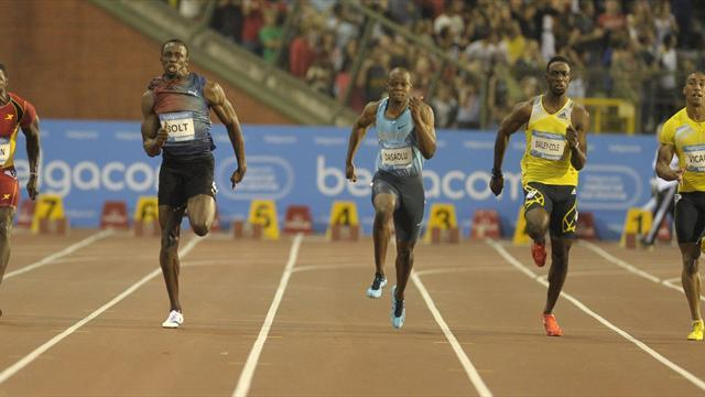 Athletics - Bolt shows supremacy in Brussels season finale