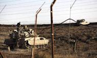 Israeli Tanks Fire Warning Shots At Syria