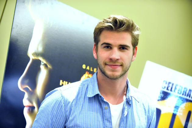 "Liam Hemsworth attends the Australians In Film screening of Lionsgate's ""The Hunger Games"" on March 29, 2012 in Beverly Hills, California. (Photo by Toby Canham/Getty Images)"