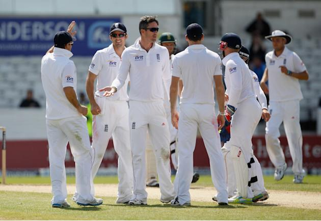 England v South Africa: 2nd Investec Test - Day Five