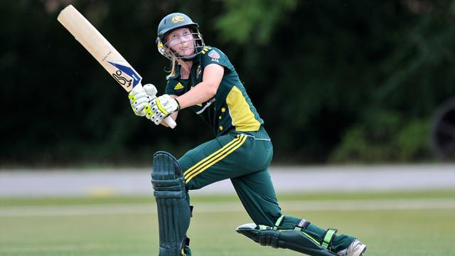 Australia women open with win over India