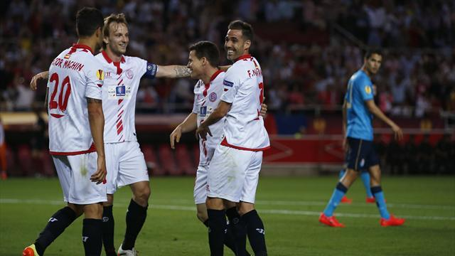 Europa League - Sevilla dismantle Porto, easy win for Benfica
