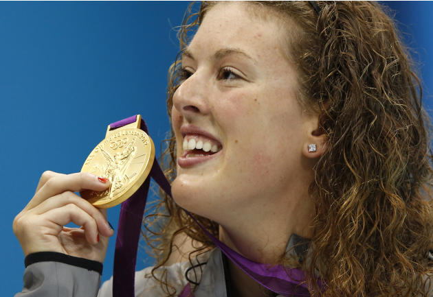 Column: Olympic champion Schmitt struggles away from pool