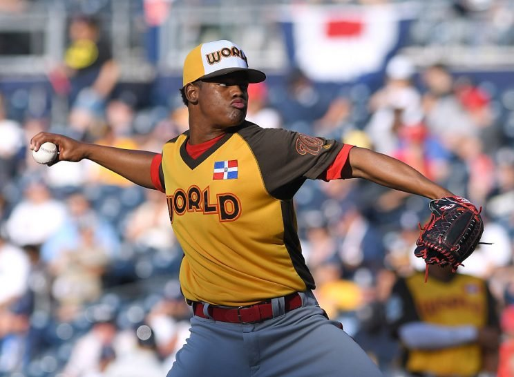 Reynaldo Lopez debuts on Tuesday, and he's a prospect worth watching. (Photo by Mark Cunningham/MLB Photos via Getty Images)