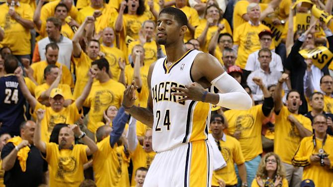 Basketball - Pacers cool Heat to stave off play-off elimination