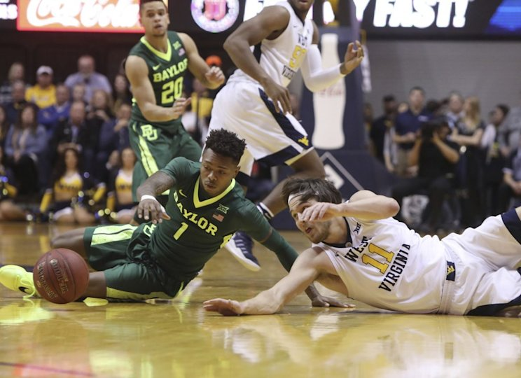 Baylor's first game as No. 1 was a challenging one at West Virginia (AP).