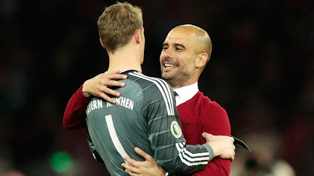 Manchester City have been linked with a move for Manuel Neuer but the Bayern Munich man has denied that any approach has been made.