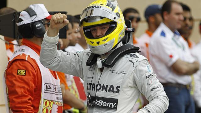Formula 1 - Rosberg storms to pole in Bahrain