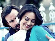 Sonakshi Sinha romances Saif Ali Khan in BULLET RAJA in the streets of Kolkata