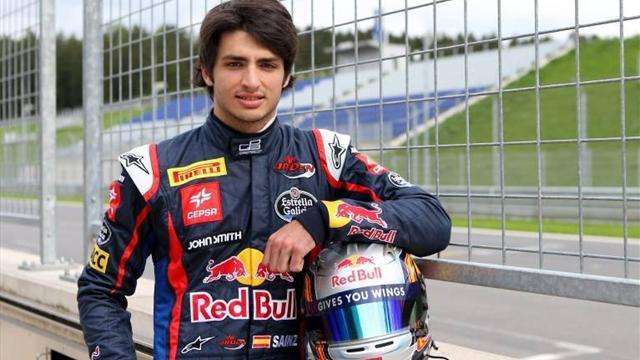 Formula 1 - Sainz plays down rapid F1 test pace