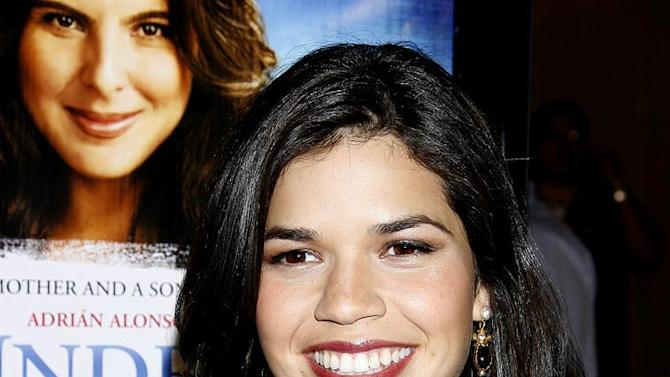 """America Ferrera at the """"Under the Same Moon"""" Hollywood Premiere -  March 11, 2008"""
