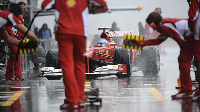 Formula 1 - Afternoon Spa session washed out